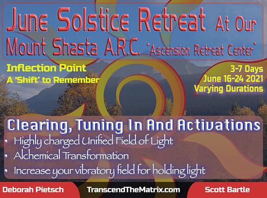 Mt Shasta Solstice Retreat 2021