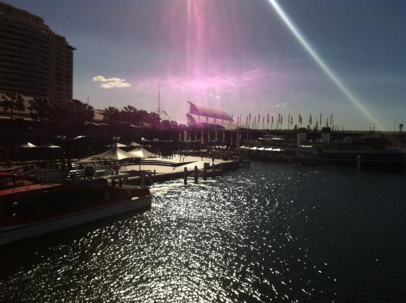 Sydney Yacht Show - Violet Flame