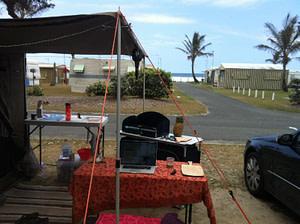 Kingscliff NSW Beach Camping 2014