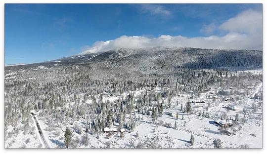 Mt Shasta Retreat Center - Snowy Mountain