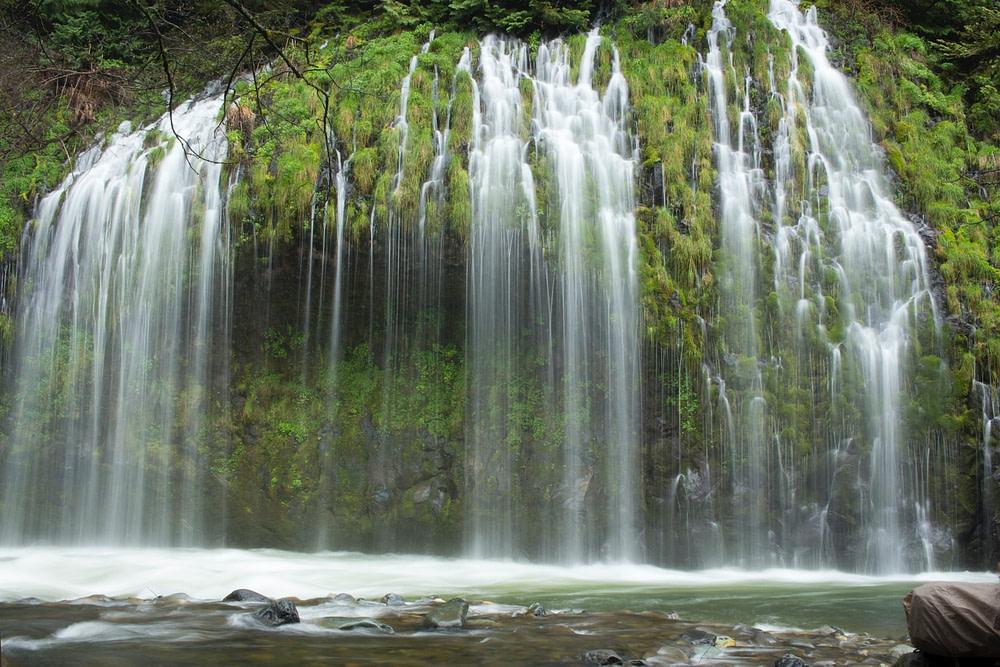 Mt Shasta waterfall