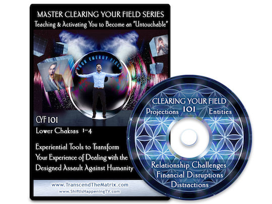 Clearing Your Field 101. Chakras Transcend Matrix Deb Pietsch Scott Bartle