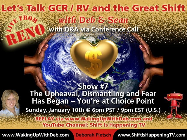 GCR : RV Activation Conference Call #7 Jan 10 2016