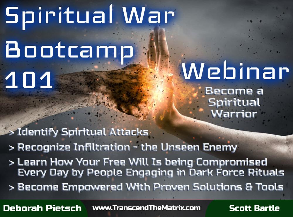 Webinar - Spiritual War Bootcamp 101