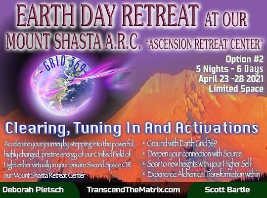 Earth Day Mount Shasta Retreat - 5 Nights