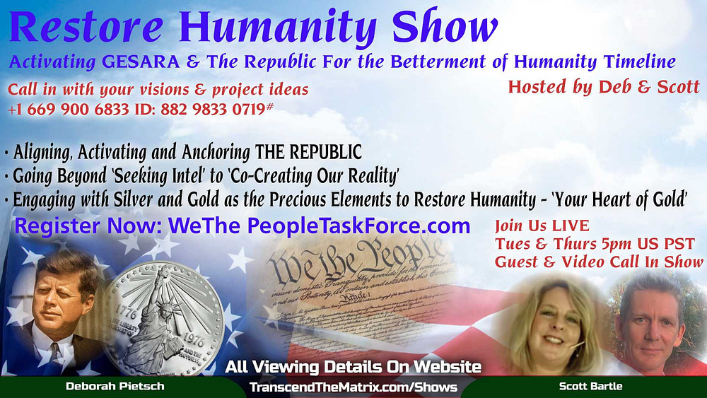 Restore Humanity Show with Deb & Scott