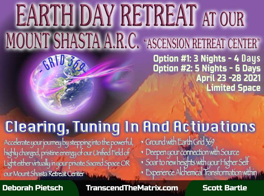 Earth Day Mount Shasta Retreat - Combo