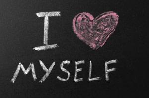 I Love Myself Chalkboard