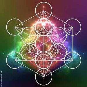 Metatrons Cube Energy Swirl