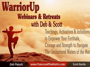 WarriorUp Webinars & Retreats with Deb & Scott