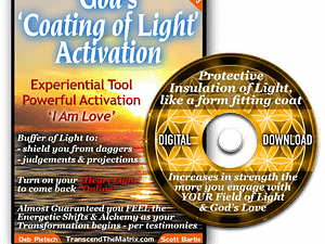 God's Coating of Light Activation - DVD case