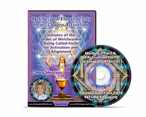 Melchizedek Flower Of Life Heart Chakra Acitivation