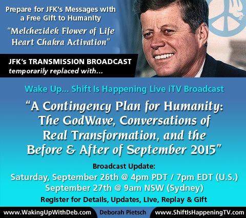 JFK's Transmission Broadcast Sep 26 2015